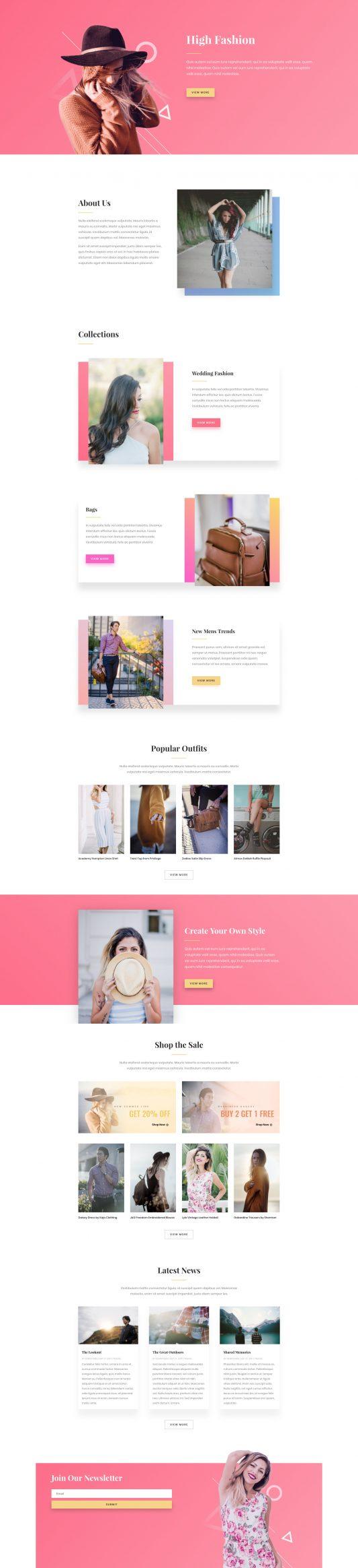 Elegant Themes - Divi-restaurant-landing-page