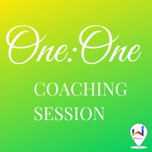 One to One Coaching Session - Whizz.ie