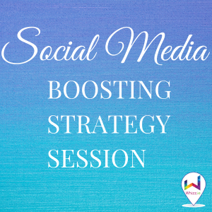 Social Media Boosing Strategy Session - Whizz.ie
