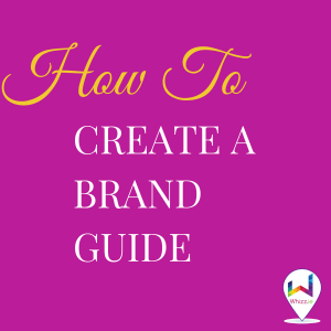 How to Create a Brand Guide - Product Cover - Whizz.ie
