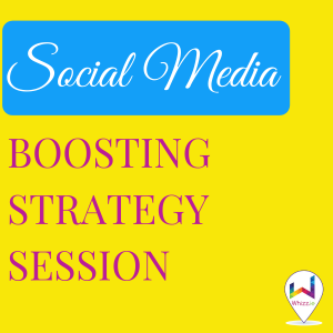 Social Media Boosting Strategy Session - Whizz.ie