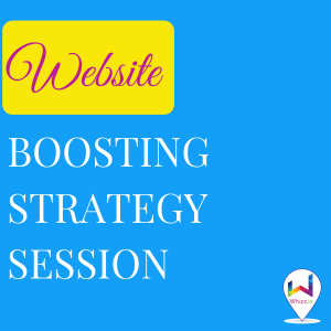Website Boosting Strategy Session- Whizz.ie