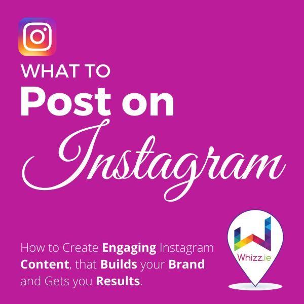 What to Post on Instagram - 2021 Workbook Image