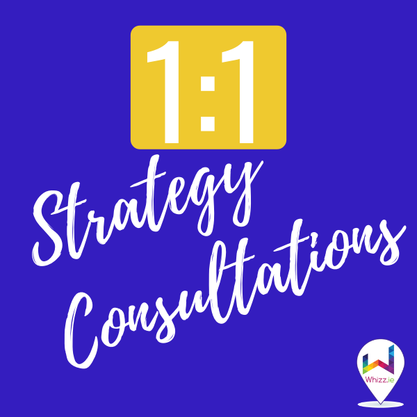 1 to 1 Strategy Consultations - Whizz.ie