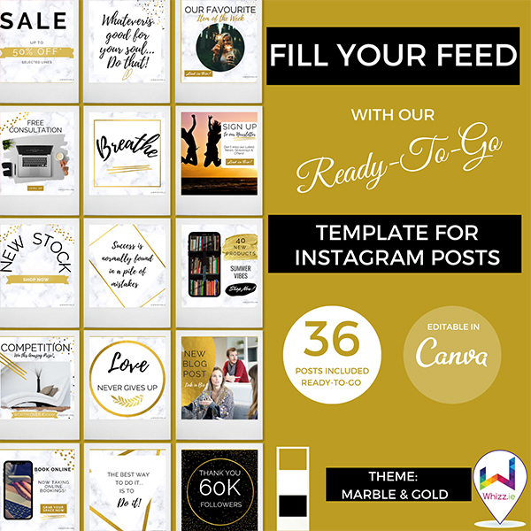 Canva-Template-for-Instagram-Posts-Marble-Gold---Whizz.ie