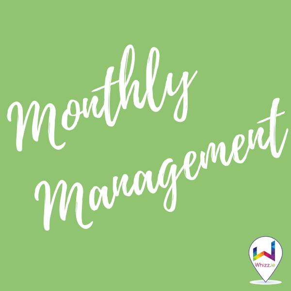 Monthly Management - Whizz.ie